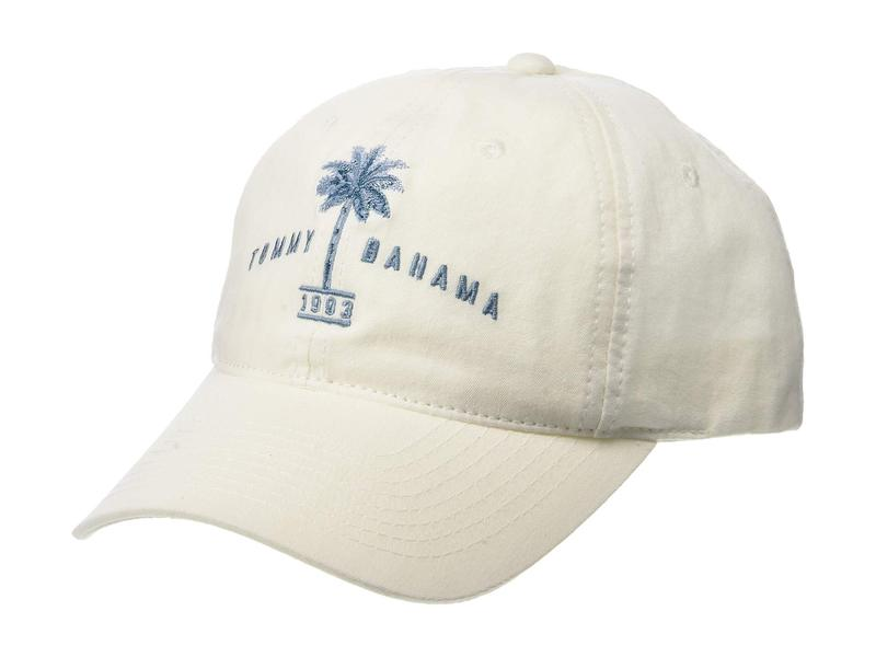 トッミーバハマ メンズ 帽子 アクセサリー Unstructured Garment Washed Twill Baseball Cap White
