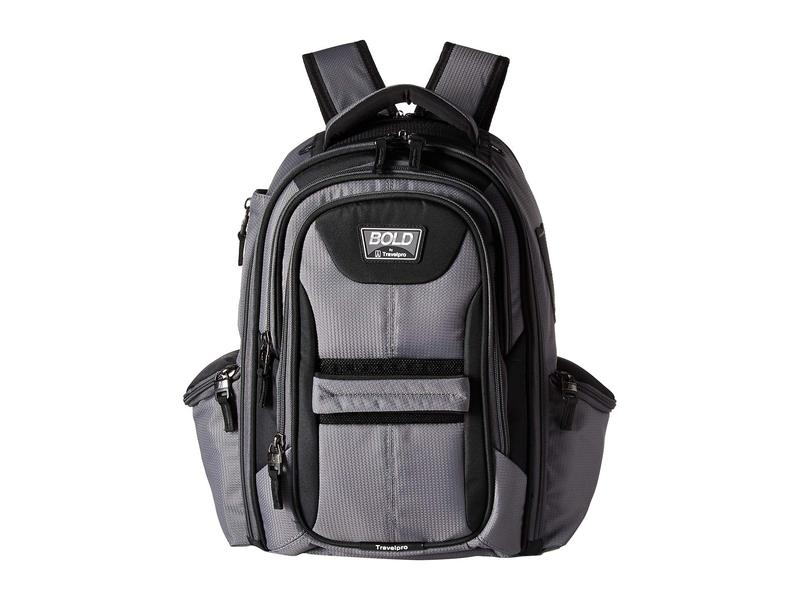 トラベルプロ メンズ バックパック・リュックサック バッグ BOLD by Travelpro Computer Backpack Gray/Black