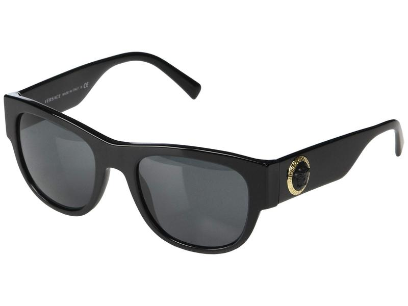 ヴェルサーチ メンズ サングラス・アイウェア アクセサリー VE4359 Black/Grey