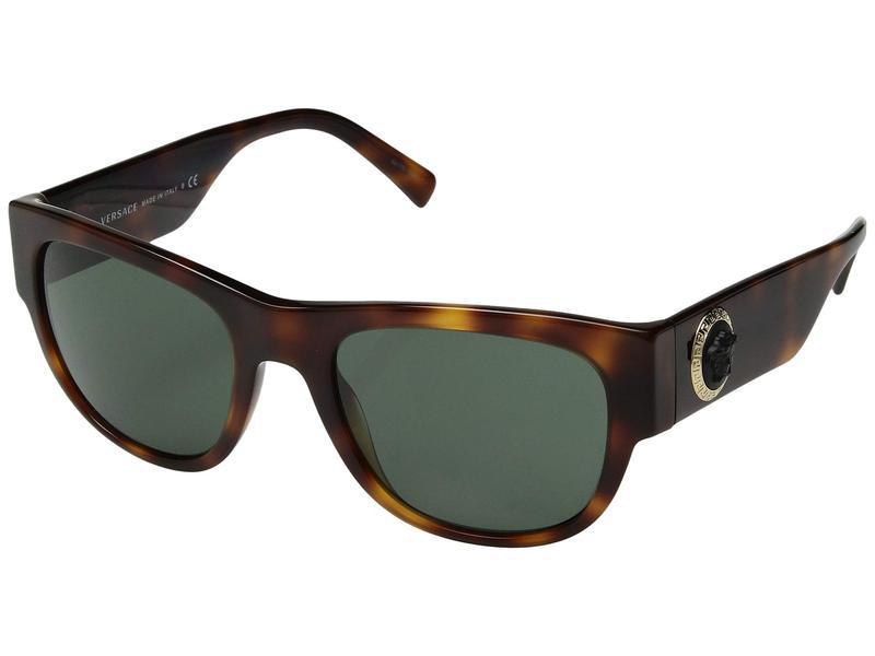 ヴェルサーチ メンズ サングラス・アイウェア アクセサリー VE4359 Havana/Green