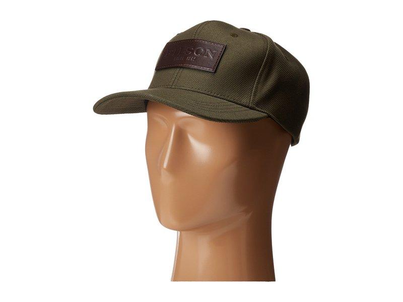 フィルソン メンズ 帽子 アクセサリー Logger Cap Otter Green