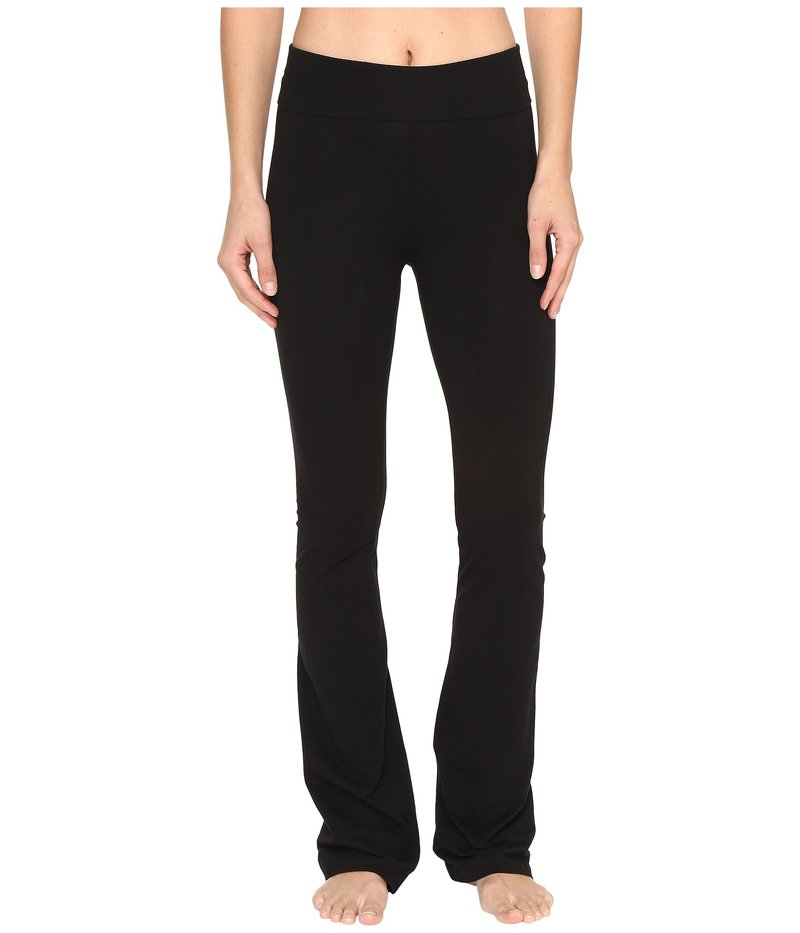 ハードテイル レディース カジュアルパンツ ボトムス Rolldown Bootleg Flare Pants Black