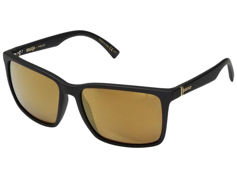 ボンジッパー メンズ サングラス・アイウェア アクセサリー Lesmore Polar Black Satin/Wild Gold Flash Polar Plus