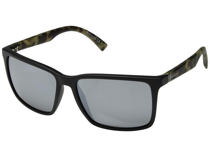 ボンジッパー メンズ サングラス・アイウェア アクセサリー Lesmore Black Satin Camo/Silver Chrome