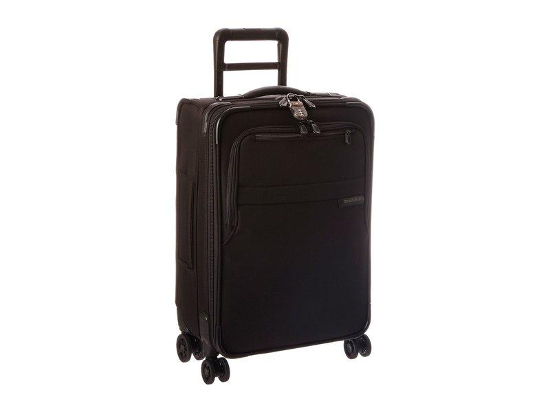 ブリグスアンドライリー メンズ ボストンバッグ バッグ Baseline Domestic Carry-On Expandable Spinner Black