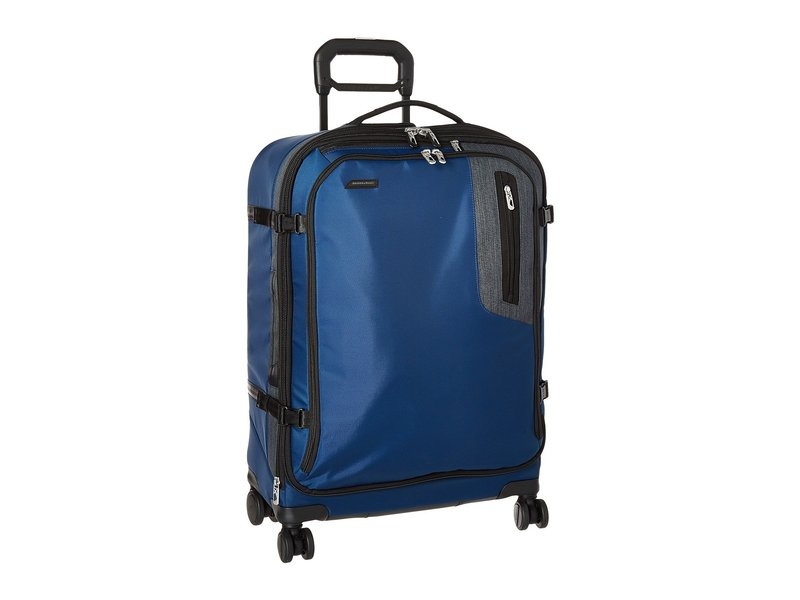 ブリグスアンドライリー メンズ ボストンバッグ バッグ BRX - Explore Medium Expandable Spinner Blue