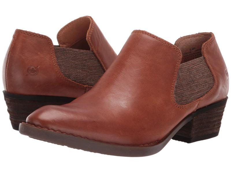 ボーン レディース ブーツ・レインブーツ シューズ Dallia Tan Full Grain Leather