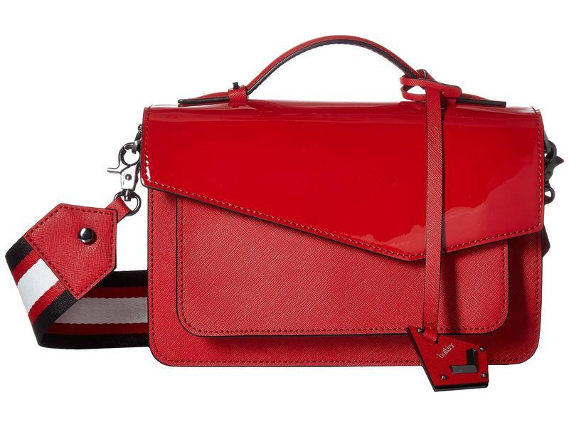 ボトキエ レディース ハンドバッグ バッグ Cobble Hill Red Patent