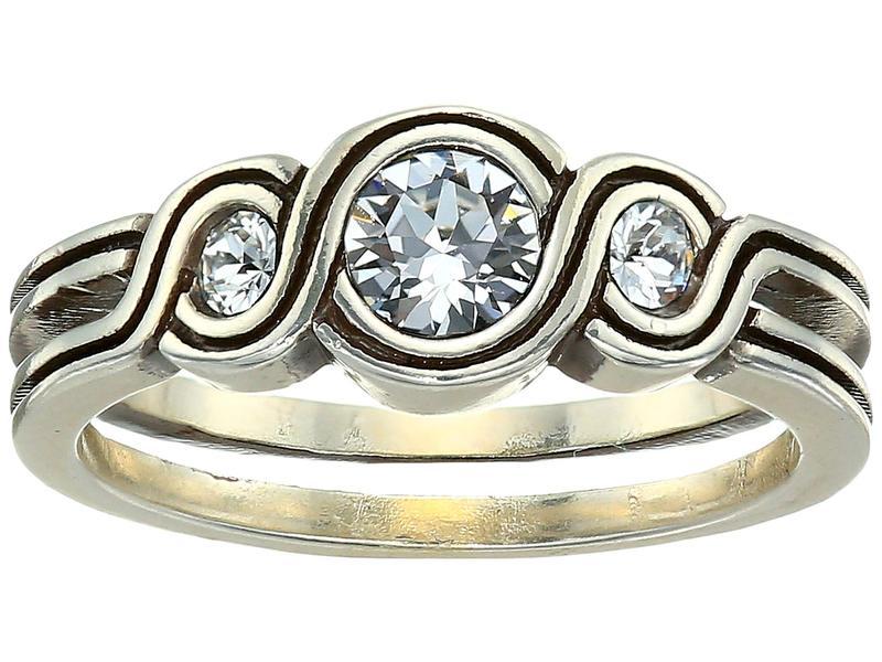 ブライトン レディース リング アクセサリー Infinity Sparkle Ring Crystal