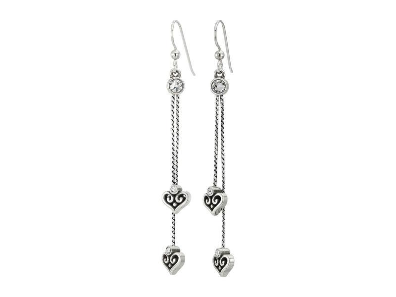 ブライトン レディース ピアス・イヤリング アクセサリー Alcazar Princess French Wire Drop Earrings Crystal