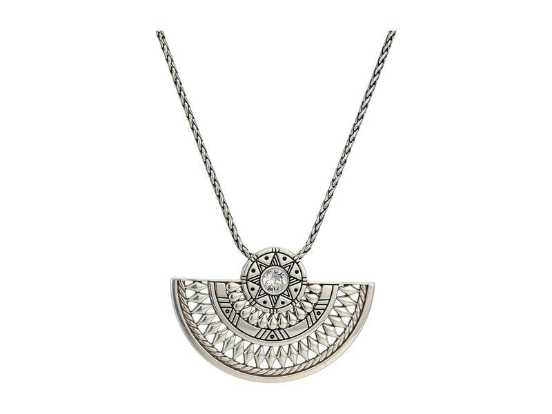 ブライトン レディース ネックレス・チョーカー・ペンダントトップ アクセサリー Africa Stories Basket Necklace Crystal