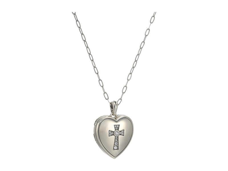 ブライトン レディース レディース ネックレス・チョーカー・ペンダントトップ アクセサリー Crystal ブライトン Call To Love Heart Locket Necklace Crystal, galaxy:eab76886 --- idia-africa.com