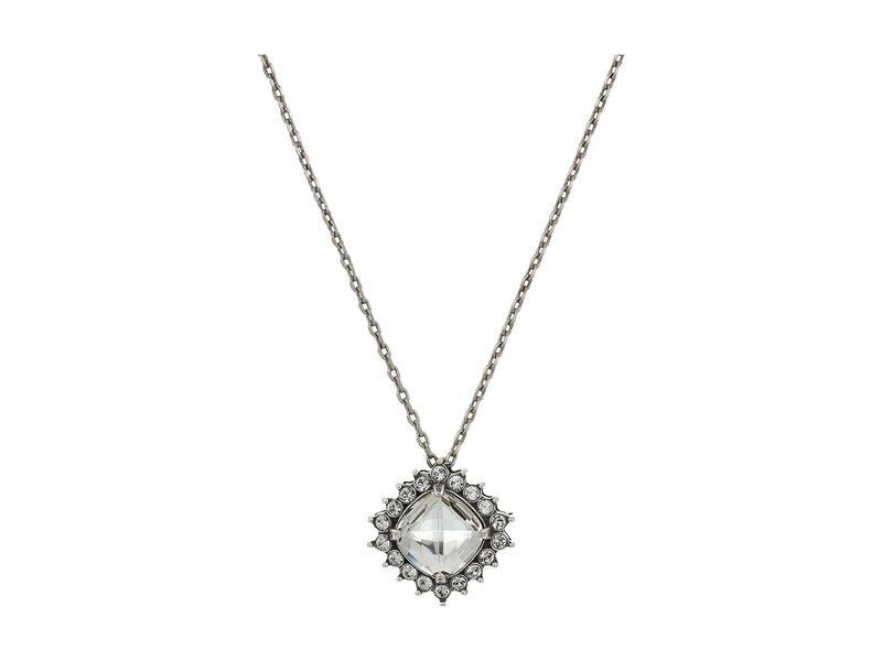 ブライトン レディース ネックレス・チョーカー・ペンダントトップ アクセサリー Demantur Short Necklace Crystal