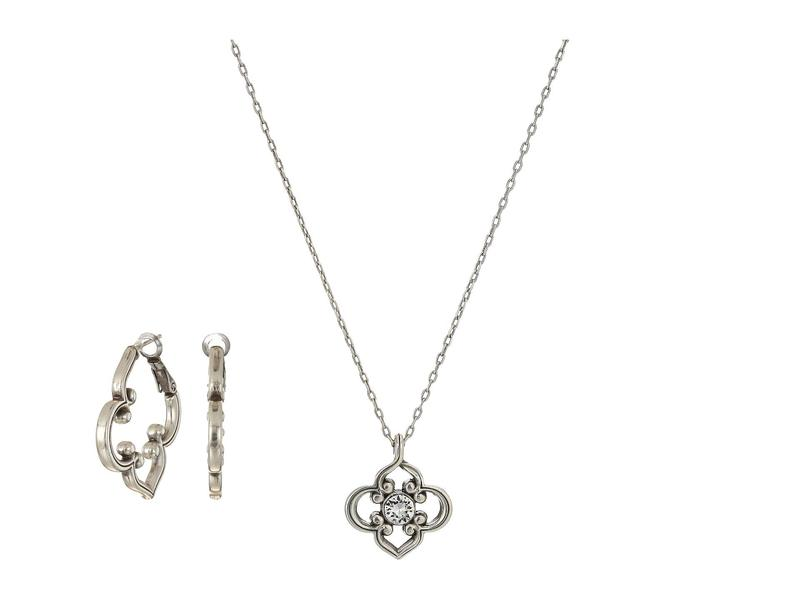 ブライトン レディース ネックレス・チョーカー・ペンダントトップ アクセサリー Gifts From The Heart - Toledo Collection Crystal
