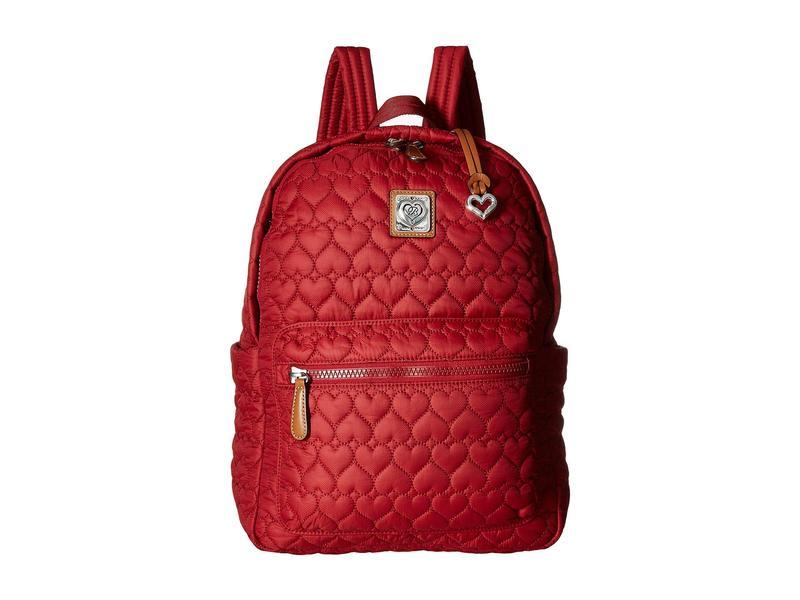 ブライトン レディース バックパック・リュックサック バッグ Kirby Carry-On Backpack Lipstick