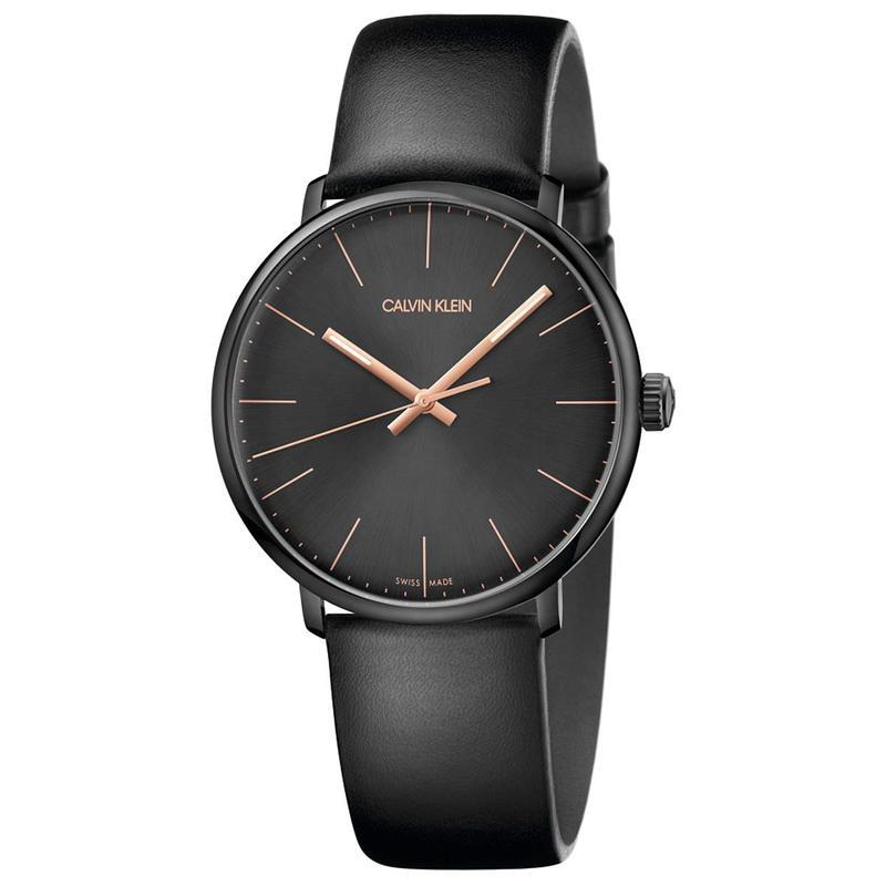 カルバンクライン メンズ 腕時計 アクセサリー High Noon Watch - K8M214CB Black