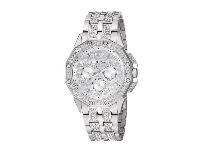 ブロバ メンズ 腕時計 アクセサリー Crystal - 96C134 Stainless