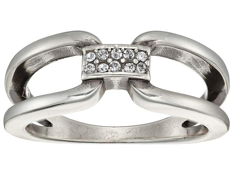 ブライトン レディース リング アクセサリー Meridian Swing Duet Ring Crystal