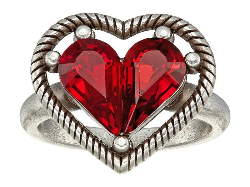 ブライトン レディース リング アクセサリー One Love Petite Heart Ring Ruby