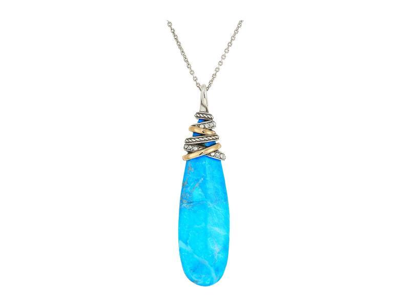 ブライトン レディース ネックレス・チョーカー・ペンダントトップ アクセサリー Neptune's Rings Pyramid Necklace Turquoise