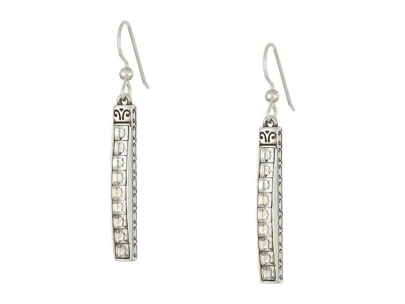 ブライトン レディース ピアス・イヤリング アクセサリー Spectrum Ice French Wire Earrings Crystal