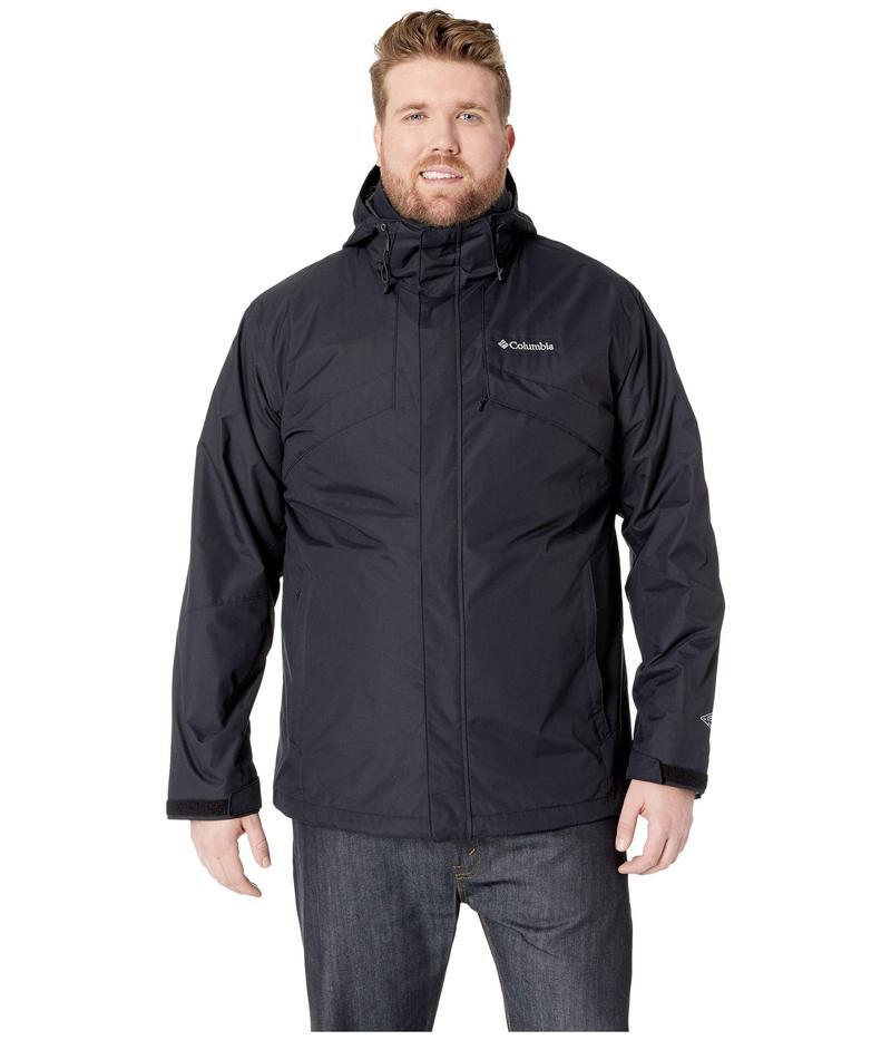 コロンビア メンズ コート アウター Big & Tall Bugaboo??¢ II Fleece Interchange Jacket Black/Charcoal Heather
