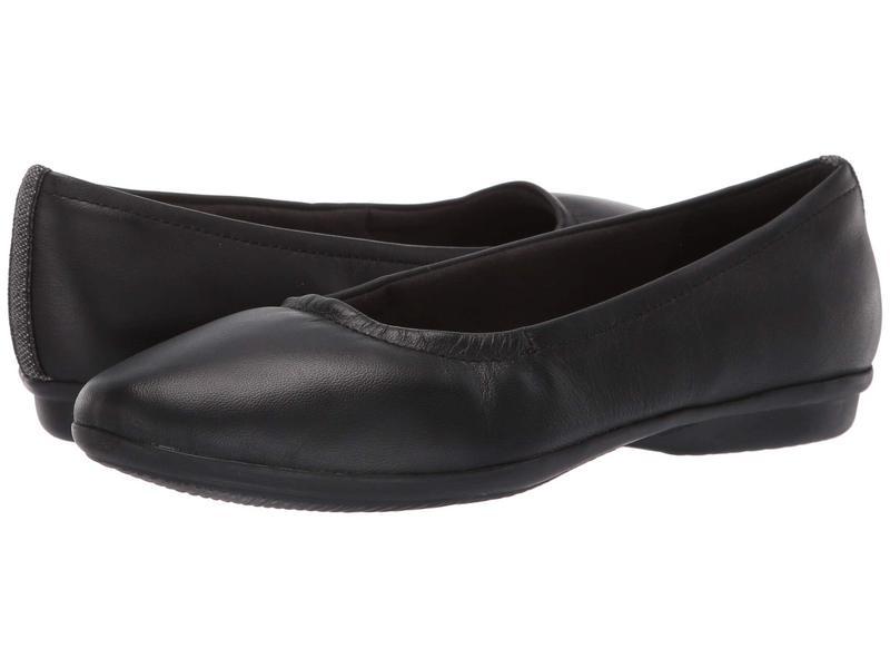 クラークス レディース サンダル シューズ Gracelin Vail Black Leather