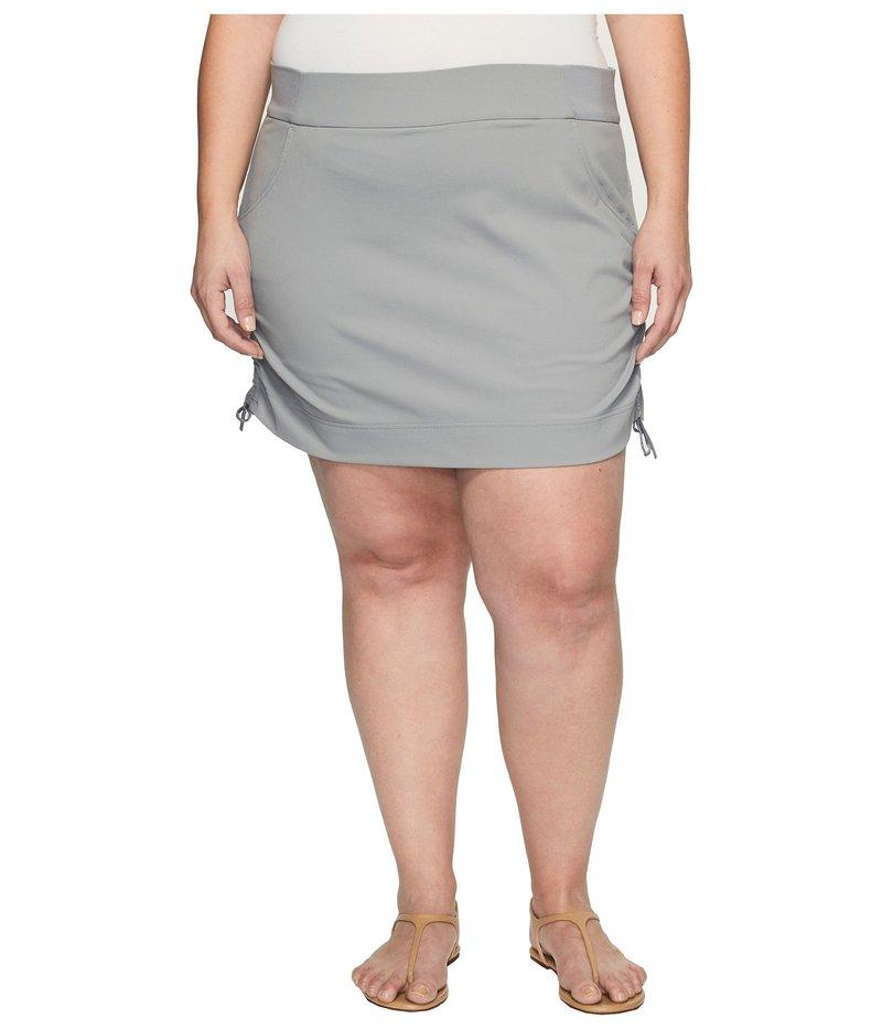 コロンビア レディース スカート ボトムス Plus Size Anytime Casual??¢ Skort Light Grey