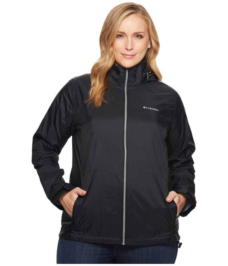 コロンビア レディース コート アウター Plus Size Switchback III Jacket Black