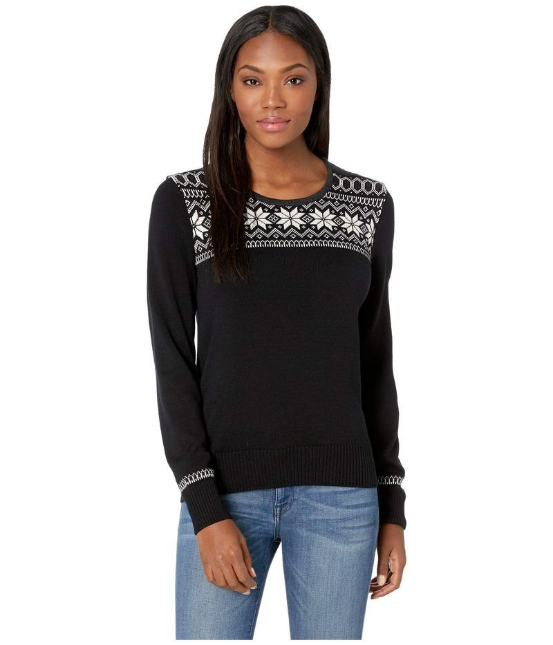 ダールオブノルウェイ レディース ニット・セーター アウター Garmisch Feminine Sweater F-Black/Off-White/Dark Charcoal/Allium