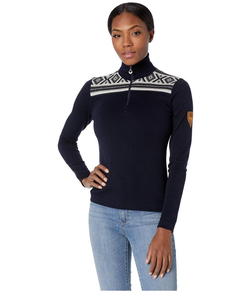 ダールオブノルウェイ レディース ニット・セーター アウター Cortina Basic Feminine Sweater C-Navy/Off-White