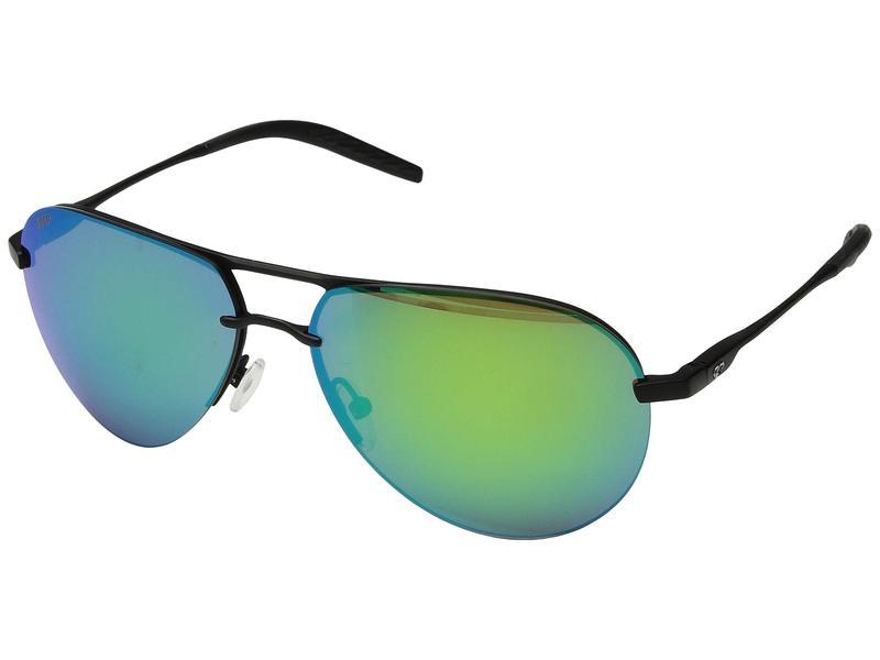コスタ メンズ サングラス・アイウェア アクセサリー Helo Matte Black/Matte Black/Black/Green Mirror 580P