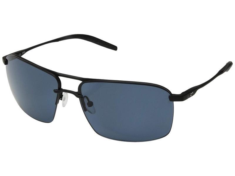 コスタ メンズ サングラス・アイウェア アクセサリー Skimmer Matte Black/Matte Black/Gray 580P