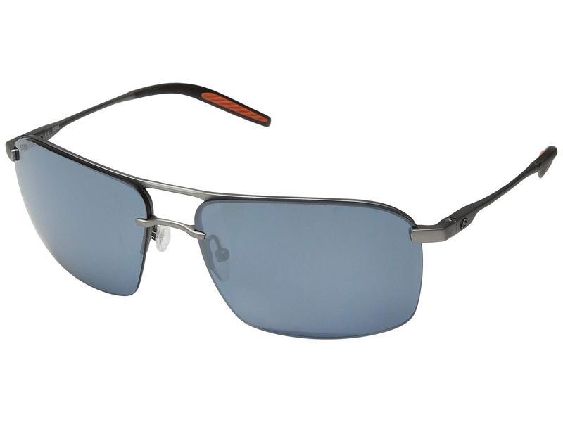 コスタ メンズ サングラス・アイウェア アクセサリー Skimmer Matte Silver/Translucent Grey/Orange/Gray Silver Mirror 580P