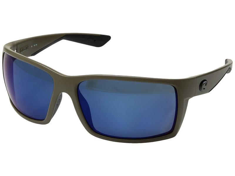 コスタ メンズ サングラス・アイウェア アクセサリー Reefton Moss/Blue Mirror 580P