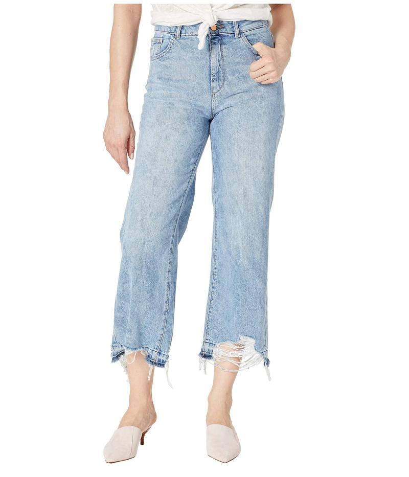 ディーエル1961 レディース デニムパンツ ボトムス Hepburn High-Rise Wide Leg in Slate Slate
