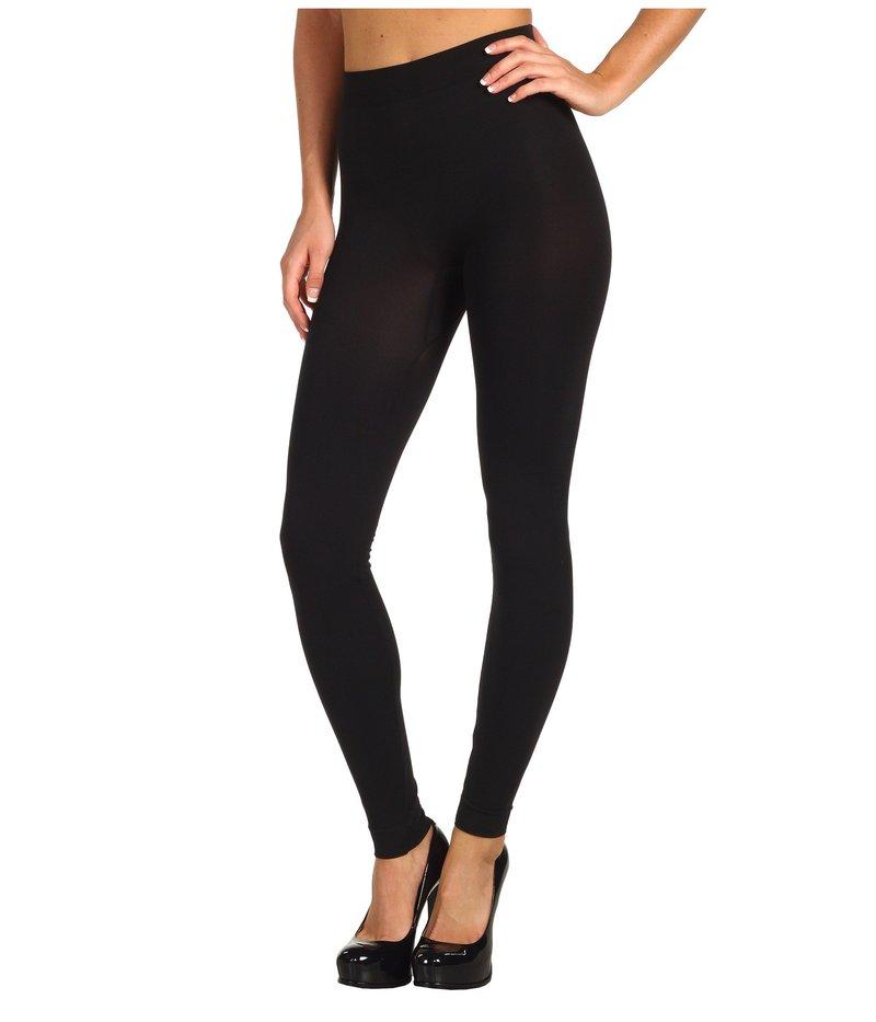 ウォルフォード レディース カジュアルパンツ ボトムス Velvet 100 Leg Support Leggings Black