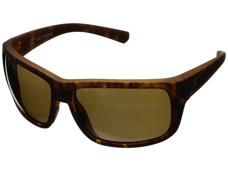 カエノン メンズ サングラス・アイウェア アクセサリー Redwood Tortoise Matte Grip Ultra Brown 12-Polarized