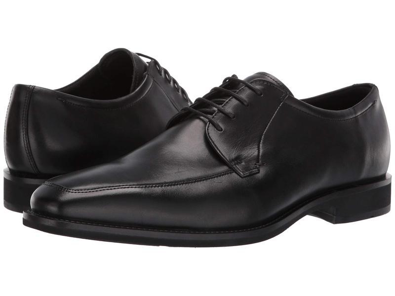エコー メンズ オックスフォード シューズ Calcan Apron Toe Tie Black