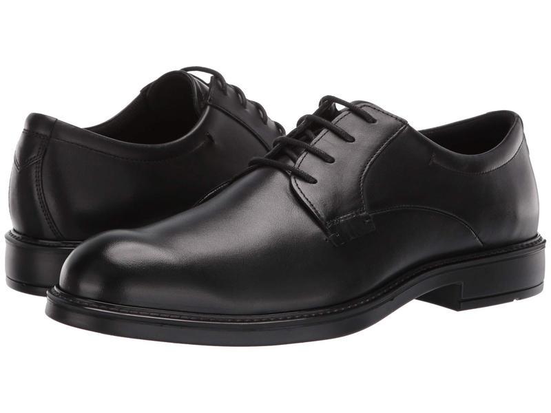 エコー メンズ オックスフォード シューズ Vitrus III Plain Toe Tie Black