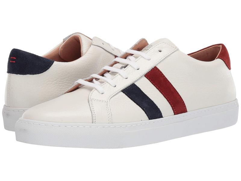 イレブンティ メンズ スニーカー シューズ Double Bicolor Stripe Tennis Sneaker Red/Navy