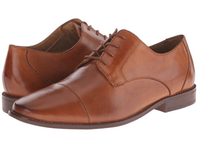 フローシャイム メンズ オックスフォード シューズ Montinaro Cap Toe Oxford Saddle Tan Smooth