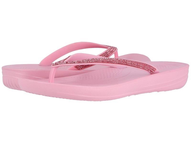 フィットフロップ レディース サンダル シューズ Iqushion Sparkle Pink Nectar