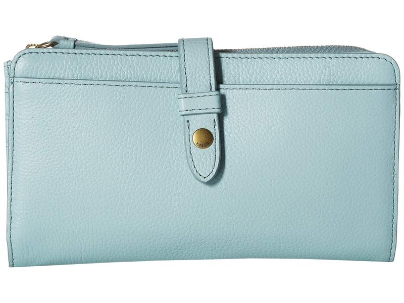 59bc1d38631e Aqua Clutch Tab Fiona アクセサリー 財布 レディース フォッシル-レディース財布
