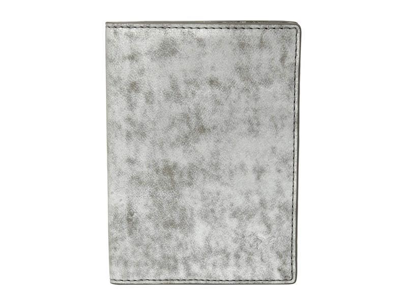 フライ レディース ボストンバッグ バッグ Passport Case Silver Metallic