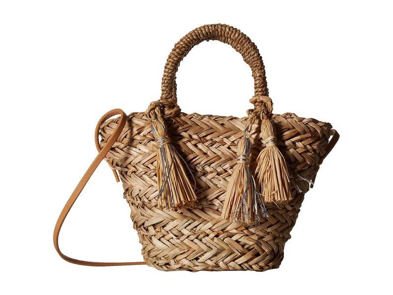 ハットアタック レディース ハンドバッグ バッグ Petite Seagrass Bag Natural