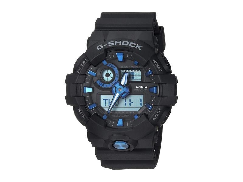 ジーショック メンズ 腕時計 アクセサリー GA-710B-1A2CR Black