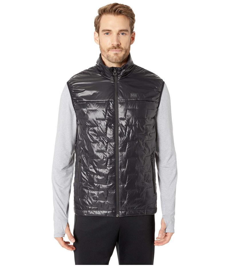 ヘリーハンセン メンズ コート アウター Lifaloft Insulator Vest Black