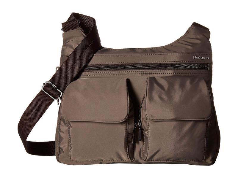 ヘドグレン レディース ハンドバッグ バッグ Prairie RFID Shoulder Bag Sepia/Brown