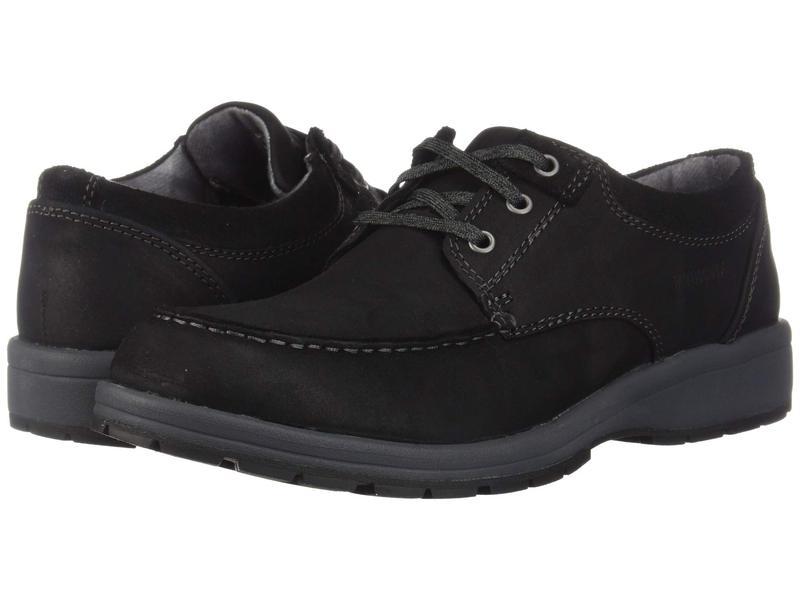 ハッシュパピー メンズ オックスフォード シューズ Beauceron MT ICE+ Black Leather